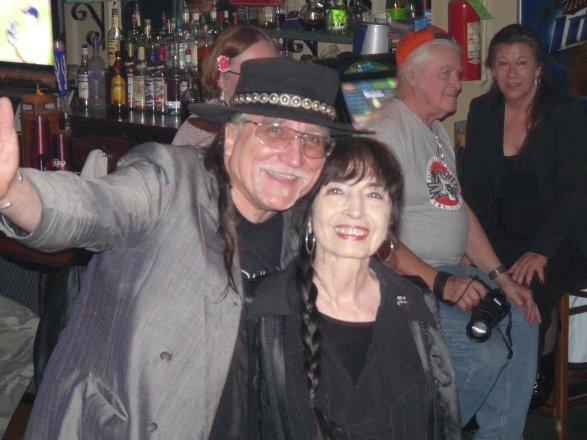 Walt with WHFR Blues DJ Host