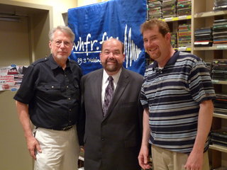 Mayor O'Reilly with WHFR Hosts