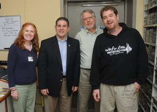 Virg Bernero (2nd from left)
