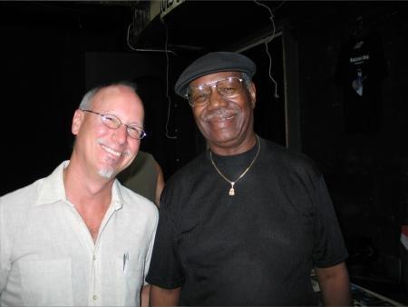 Roger with Johnnie Bassett