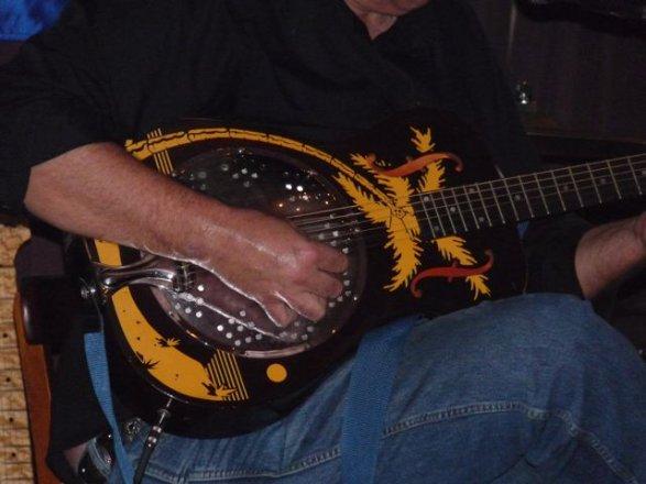 Carl Henry's guitar