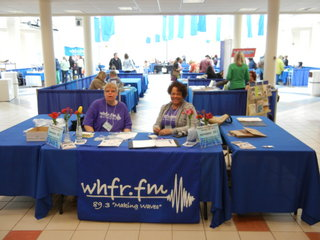 WHFR ticket table