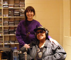 Jo Ann with Alberta Adams 2008