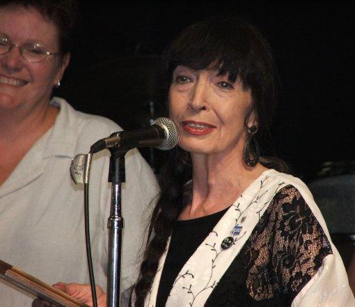 Jo Ann wins the Detroit Blues Society award 2005