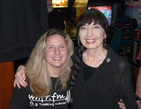 Kristin Risbeck (former WHFR Program Director) and Jo Ann 2009