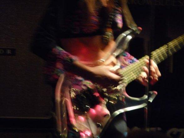 Lemon James' guitar