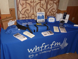 WHFR table