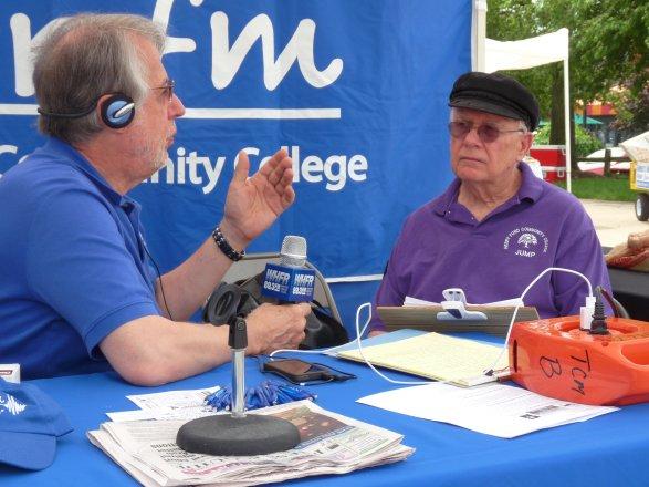 Glenn O'Kray (on right)