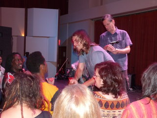 Lukas Nelson meets his fans