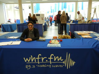 WHFR welcome desk